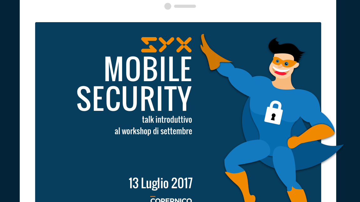 Android security and privacy – Talk gratuito