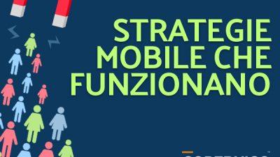 Strategie Mobile che Funzionano